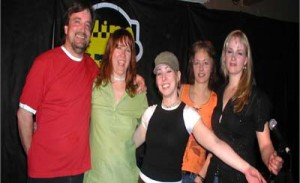 Marty and Wanetta Stroo, Heidi Bender, Keylee Knecht and Leslie Wilkins are Blind Spot.
