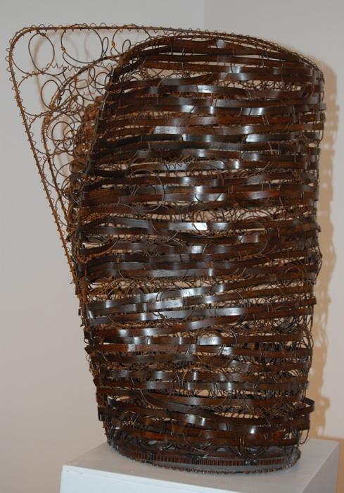 Bronze Award — Full Metal Basket No. 6 by Kate Tupper. David F. Rooney photo