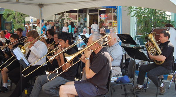 The Community Band performed brilliantly for people waiting for the parade on Saturday morning. David F. Rooney photo