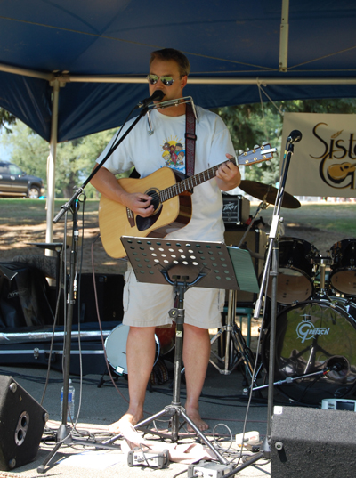 Steve Smith was one of the performers at the Picnic in the Park. David F. Rooney photo