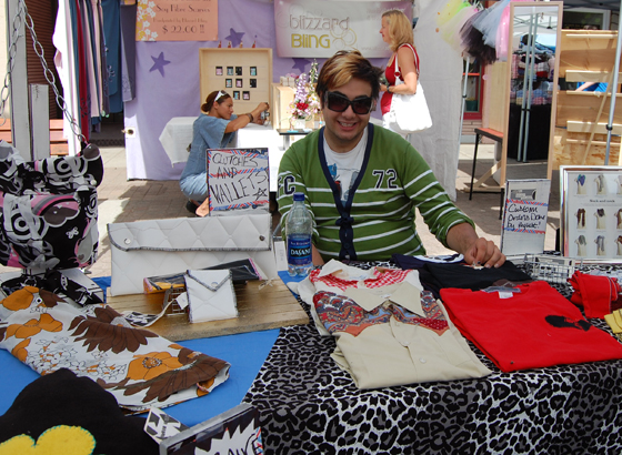 Wesley Barisoff offers up clothing of his own design through the Wesley B. Clothing Co..  If you miss him at the market you can reach him at 250-837-1376 or by e-mail at wesley.j.barisoff@hotmail.com. David F. Rooney photo