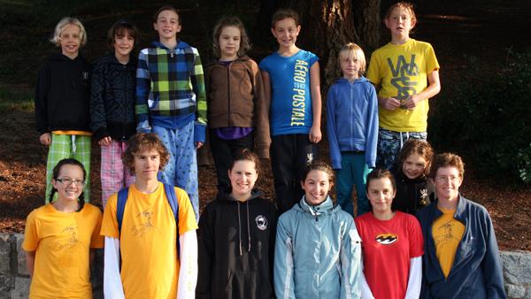 2009 Revelstoke Aquaducks Provincial Team. Missing are Leif and Raine Carnegie. Photo courtesy of Connie Pfeiffer