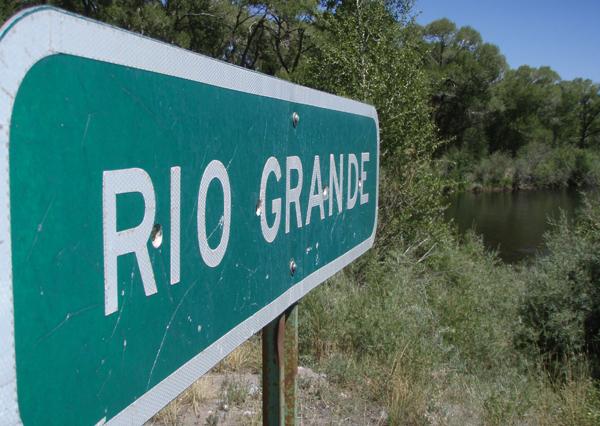 The not-so Rio Grande (Big or Grand River in Spanish). Photo courtesy of Rich Hamilton