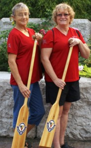 Revelstoke seniors Barb Little and Ginger Shoji are Richmond-bound for the BC Seniors' Games but as part of a Sicamous-based women's team. Photo courtesy of Barb Little