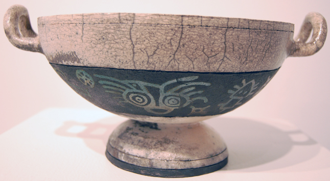 David Walker's Bowl seems to fuse Greek style with ancient North American pictographs. David F. Rooney photo