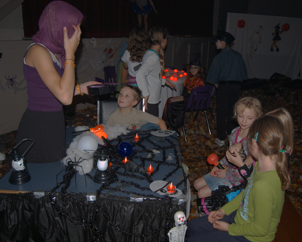 ... Or perhaps have your fortune told? The Haunted House had it all. Great job kids! David F. Rooney photo