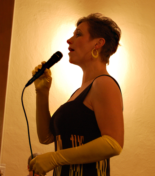 Sharon Shook, always a crowd pleaser, did not disappoint the audience at the Discovering Your Voice concert. David F. Rooney photo