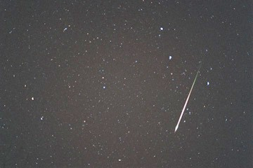 This year's Leonid Meteor Shower could rival the magnificence of the 2001 show. Photo courtesy of John Payne