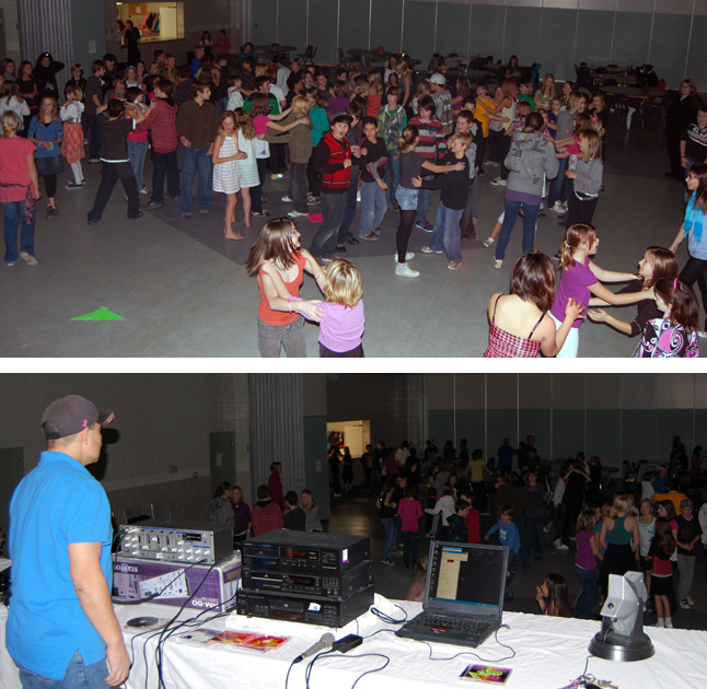 The Revelstoke Acrobats held a Pre-Teen Dance at the Community Centre and the under-13 set certainly, ah, rocked the place to the music of DJ Ron Shiosaki. The kids had a great time in a safe and well-chaperoned place. Isn't that all that matters? David F. Rooney photo