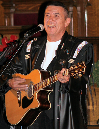 Tom Jackson will be Singing for Supper on Dec. 9 at the United Church. Photo courtesy of Tom Jackson