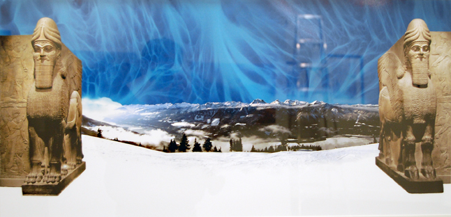 Rachel Thompson enjoys mixing myth and landscape in 5620. David F. Rooney photo