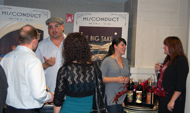 The Big Take, a really lovely blend of Cabernet Sauvignon, Cabernet Franc and Merlot, produced by the Misconduct Wine Co. was a very popular wine served up on Saturday. David F. Rooney photo