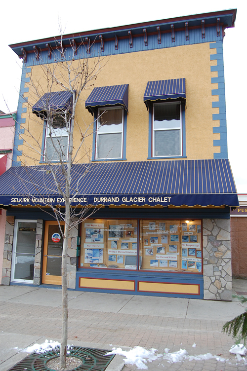 The Selkirk Mountain Experience building at 111 Mackenzie has been nominated for a Commercial Renovation award. David F. Rooney photo