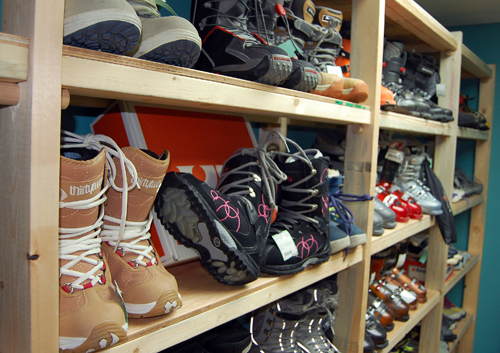 Need boots? Re Psyched has all kinds for every type of winter sport. David F. Rooney photo