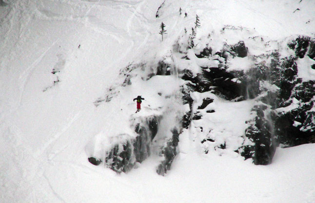 Ryan Sullivan, 19, of Whistler, BC, finished in 4th place. Karen McColl photo