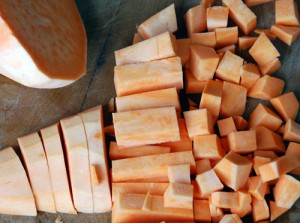 Diced carrots, parsnip, squash or yam or celery are excellent in the De-Tox Veggie Tonic. David Savage photo