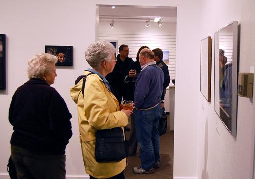 Ruby Cameron (left) and Judy Vigue enjoyed Pat Anderson's take on dreams. David F. Rooney photo