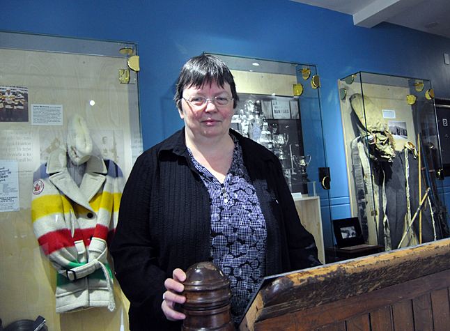 Chances are that when you think of our local history the first person to spring to mind is Cathy English, the curator of the Revelstoke Museum & Archives. David F. Rooney photo