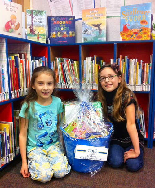 Eden and Nyssa Thomas are the winners of the Revelstoke Reads! gift basket donated by CBAL. The members of the Thomas family each nominated their recent favourite books for Revelstoke Reads! - an opportunity to celebrate books as part of Family Literacy Week. Robyn Thomas photo