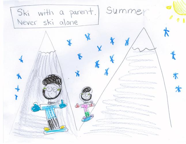 First Place — Summer Novakowski — Grade 1 — Columbia Park Elementary