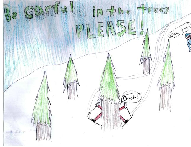 Second Place — Adam Carter — Grade 4 — Begbie View Elementary