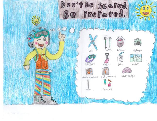 First Place — Erik Brosch — Grade 6 — Begbie View Elementary