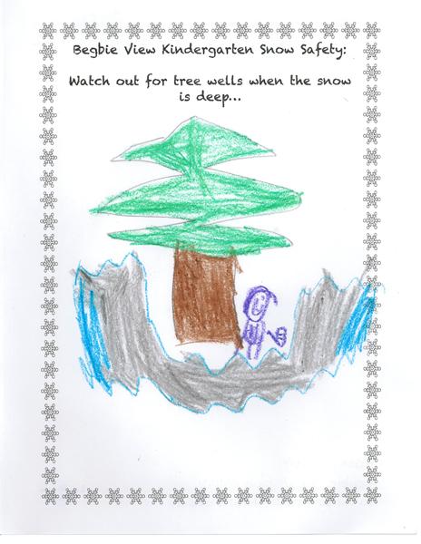 First Place — Kasey Howe — Kindergarten — Begbie View Elementary