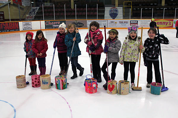 These happy and enthusiastic girls got right into the spirit of the game. Linda Chell photo