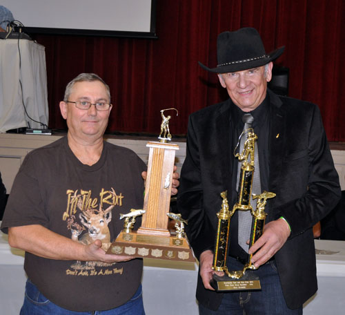Peter Bernacki took first place in the Men's Rainbow Category and the Lorne Taylor Memorial Trophy for a 17-pounder. David F. Rooney photo