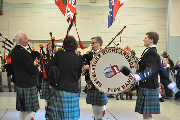 If you love the pipes — and most people of Scottish and Irish descent do — then you had to enjoys Saturday's performance by members of the Revelstoke Highlanders Pipe Band. David F. Rooney photo