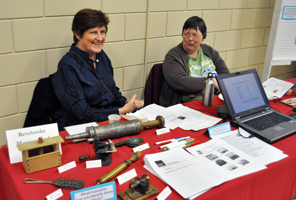 If you had an interest in local history Jan Morehouse and Cathy English could answer just about every question that could spring to mind. Jan's the chairwoman of the Revelstoke Museum & Archives Society and Cathy, of course, is the Museum's  curator. David F. Rooney photo