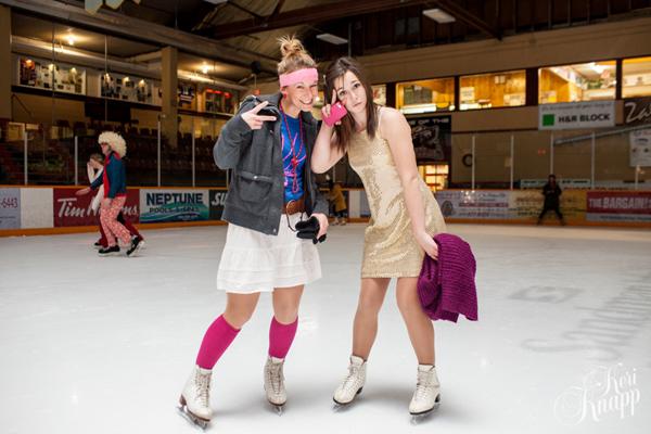 Jordan Vandenberg-Clark and Julie Vandenberg Rock out in Retro Wear. Keri Knapp photo