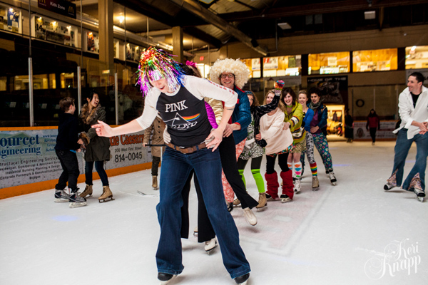 Party train on ice! Keri Knapp photo