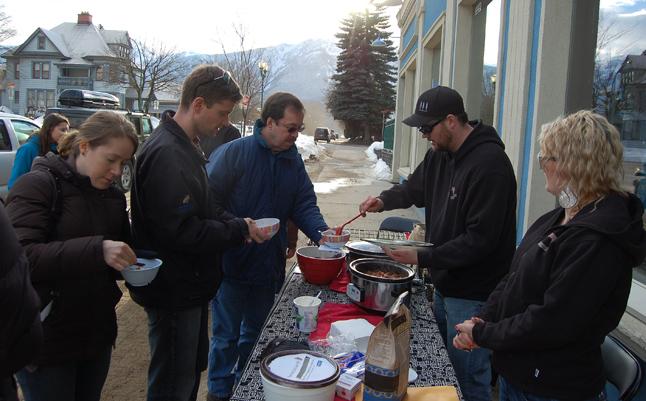Mmmm, chili! David F. Rooney photo
