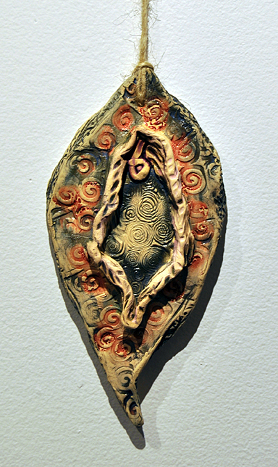 The Beginning By Patti Shonek Red clay ceramic