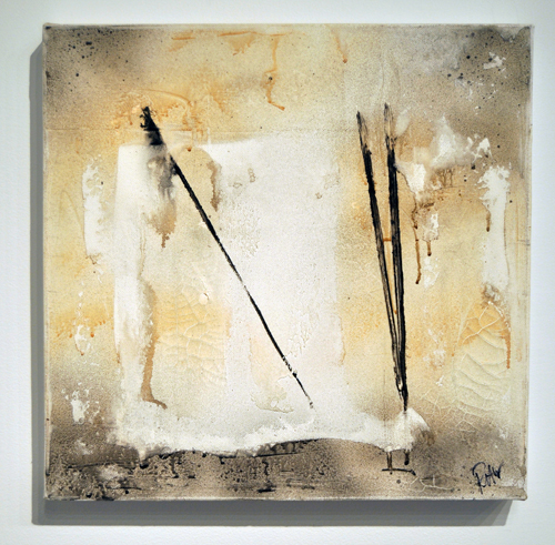 The Beginning By Peter Blackmore Mixed media on canvas