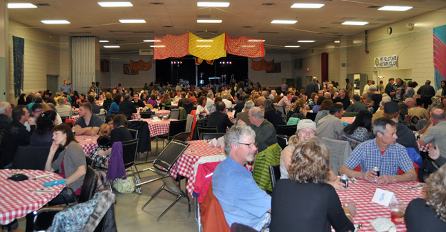 Saturday evening's A Taste of India event put on by the Revelstoke Rotary Club and Paramjit's Kitchen was a tremendous success. David F. Rooney photo