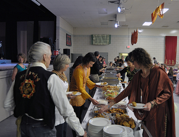 All 400 tickets were sold to local folks who appreciate good Indian food, good music and good local entertainment. David F. Rooney photo