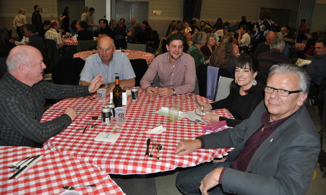 If you're a politician running for elected office then the Taste of India was not an event you'd want to miss. BC Liberal Candidate Doug Clovechok and his wife, Susan, (right) had a great time with some of their supporters. David F. Rooney photo