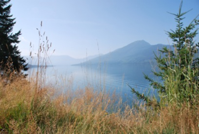 "Archeology proves that the valleys of the Columbia, Slocan, Kootenay and Okanagan Rivers have been occupied for at least 3,500 years, and oral history suggests a time frame of 10,000 years of continuous habitation. The Sinixt, or Lakes People, declared ""extinct"" by the Canadian Government in 1956, are unable to formally issue land claims, as they don't officially exist. But of course they do, both in Canada and in the USA. Leslie Savage photo"