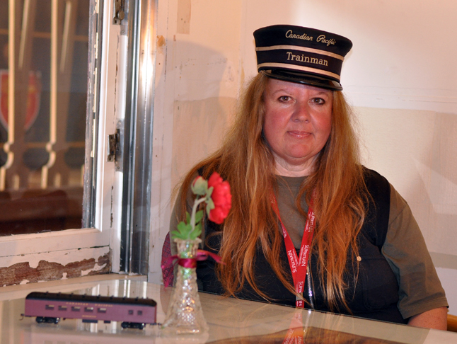 There's a new trainmaster at the Railway Museum. Marjorie Somerton was hired on this past spring and hopes to re-invigorate the museum and it signature event, Railway Days.  David F. Rooney photo