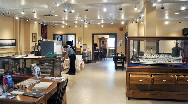 When was the last time visited the Revelstoke Museum & Archives? If you haven't been there lately you're bound to be surprised by the lighter, brighter look of its main floor exhibit space. David F. Rooney photo