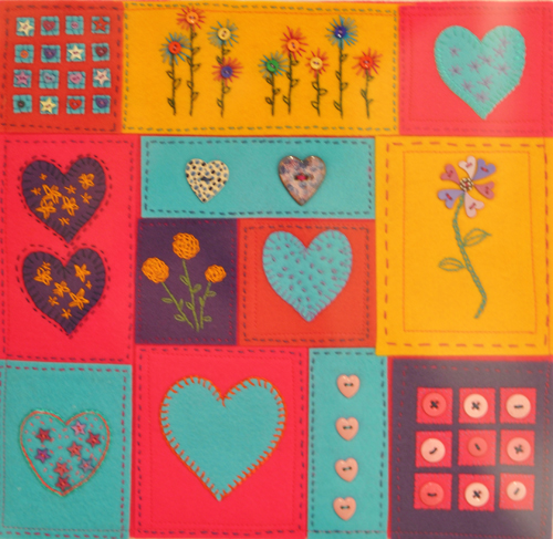 Hearts, Flowers and Buttons By Jackie Pendergast