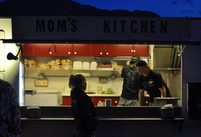Need a late-night snack? Mom's Kitchen is a popular and regular place to chow down. David F. Rooney photo
