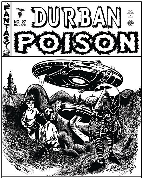 Durban Poison was in Revelstoke in the spring and now they're back to reprise that successful performance with a live concert at the Last Drop on Friday, September 13. Find out more about them at https://www.facebook.com/durbanposion27. Image courtesy of Durban Poison