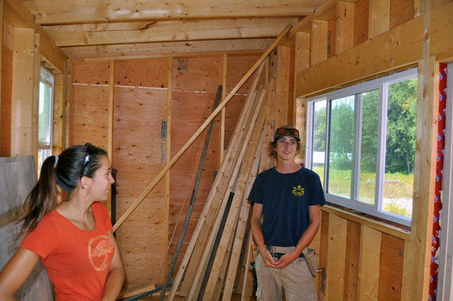 They still have to finish the interior, too, but they're young, enthusiastic and willing to work hard to achieve their goals. It's also not costing them a fortune to build, either. Total cost when all is said and done will be about $10,000. David F. Rooney photo