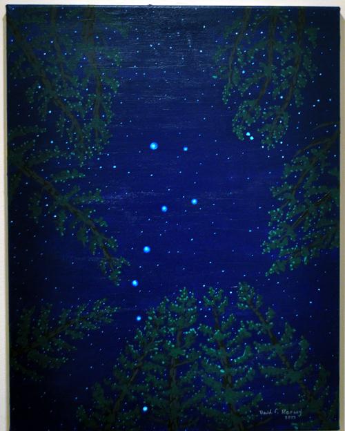 Ursa Major By David F. Rooney Acrylic on Canvas