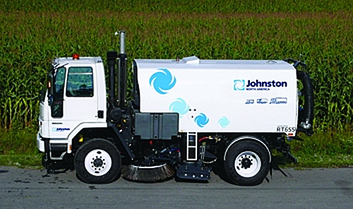 The City wants to replace its 2005 Elgin Street Sweeper with a new machine similar to this one. Photo courtesy of Johnston Sweepers