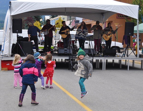 There was music, of course, which seemed to attract these young and fun-loving dancers. David F. Rooney photo