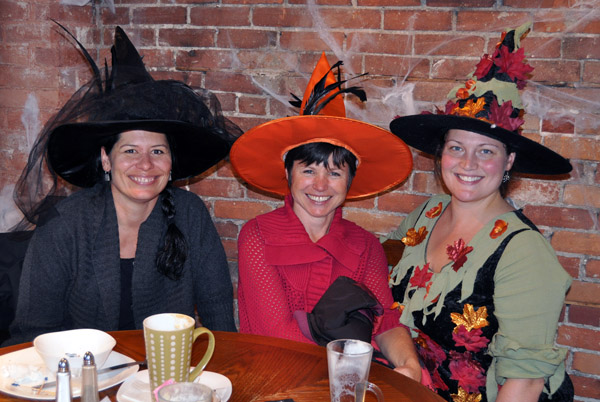 Naturally enough, some of the customers at Conversations were good witches. David F. Rooney photo